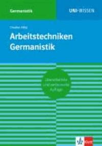 Arbeitstechniken Germanistik.
