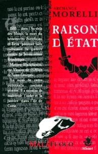 Archange Morelli - RAISON D'ETAT.