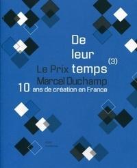 Archibooks - De leur temps (3) - Le Prix Marcel Duchamp, 10 ans de création en France.