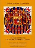 Archimandrite Barsanuphe - Icônes et vies des saints moines russes.