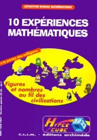 Isabelle Nocera et André Parent - Hypercube N° 32-33 : 10 expériences mathématiques - Figures et nombres au fil des civilisations.