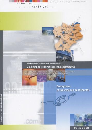 ARDI - Les filières du numérique en Rhône-Alpes : annuaire des compétences technologiques.