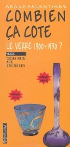 Argus Valentine - Le verre 1900-1930 ? - Leurs prix aux enchères.