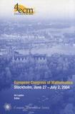Ari Laptev - European Congress of Mathematics - Stockholm, June 27 - July 2, 2004.