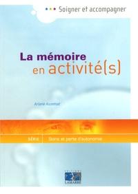 Galabria.be La mémoire en activité(s) - Guide pour les professionnels en gériatrie Image