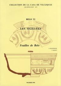 Ariane Bourgeois et Françoise Mayet - Belo VI - Les sigillées.