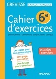 Ariane Carrère - Cahier d'exercices Grevisse 6e.