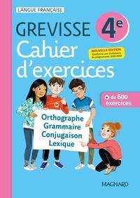 Ariane Carrère - Français 4e Grevisse - Cahier d'exercices.