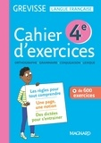 Ariane Carriere - Cahier d'exercices Grevisse 4e.