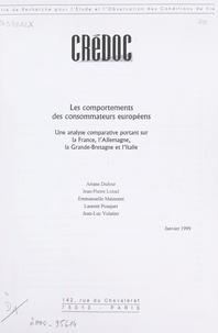 Ariane Dufour et Jean-Pierre Loisel - Les comportements des consommateurs européens - Une analyse comparative portant sur la France, l'Allemagne, la Grande-Bretagne et l'Italie.