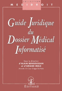 Goodtastepolice.fr Guide juridique du dossier médical informatisé Image