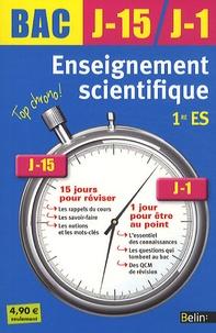 Ariane Pasco - Enseignement scientifique 1e ES.