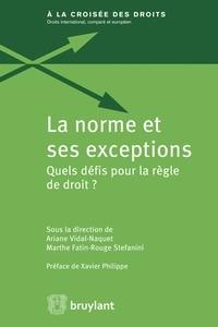 La norme et ses exceptions - Quels défis pour la règle de droit ?.pdf