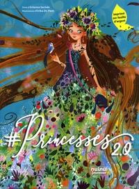 Arianna Saviolo et Erika De Pieri - #Princesses 2.0 - Imprimé sur feuille d'argent.