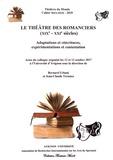 Bernard Urbani et Jean-Claude Ternaux - Théâtres du Monde Hors-série N° 3/2018 : Le théâtre des romanciers (XIXe-XXIe siècles) - Adaptations et réécritures, expérimentations et contestation.