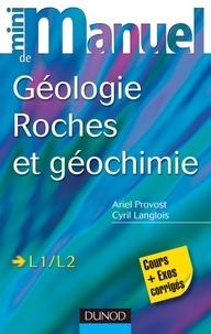 Histoiresdenlire.be Mini manuel de Géologie, Roches et géochimie - Cours et Exercices corrigés Image