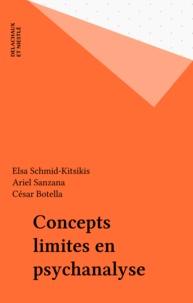 Ariel Sanzana et  Collectif - Concepts limites en psychanalyse.