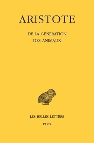 Aristode - De la génération des animaux.
