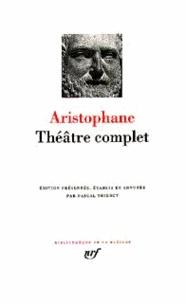 Aristophane - Théâtre complet.