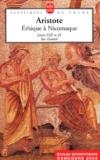 Aristote - Ethique à Nicomaque. - Livres VIII et IX, Sur l'amitié.