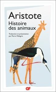 Aristote - Histoire des animaux.