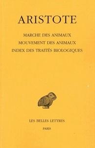 Marche des animaux, mouvements des animaux, index des traités biologiques.pdf