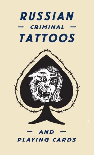 Arkady Bronnikov - Russian criminal tattoo & playing cards.