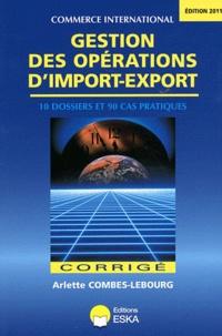 Lemememonde.fr Gestion des opérations d'import-export - Corrigé Image