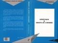 Arlette Heymann-Doat et  Collectif - Génétique & droits de l'homme - [actes du colloque, 20-21 mars 1998, Sceaux].