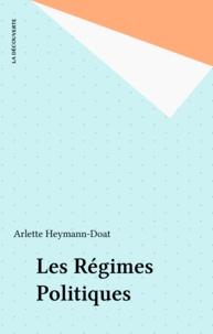 Arlette Heymann-Doat - Les régimes politiques.