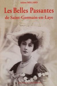 Arlette Millard - Les Belles Passantes de Saint-Germain-en-Laye.
