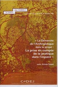 Arlindo Stefani - La Démarche de l'anthropologue dans le projet : la prise en compte de la pratique dans l'espace.