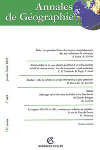Armand Colin - Annales de géographie N° 623 Janvier-Février 2002.