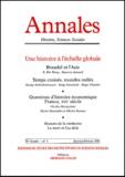 Armand Colin - Annales Histoire, Sciences Sociales N° 1 Janvier-Février 2001 : Une histoire à l'échelle globale.