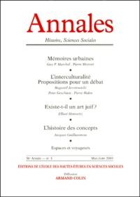 Armand Colin - Annales Histoire, Sciences Sociales N° 3 Mai-Juin 2001.