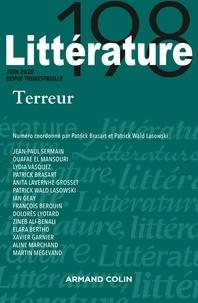 Armand Colin - Littérature N° 198, 2/2020 : Terreur.