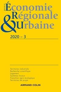 Armand Colin - Revue d'économie régionale et urbaine N° 3/2020 : Varia.