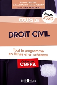 Cours de droit civil- Tout le programme en fiches et en schémas - Armand Dadoun | Showmesound.org