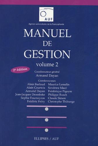 Armand Dayan - Manuel de gestion - Volume 2.