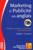 Armand Dayan et William-H Lindsay - Marketing & publicité en anglais.