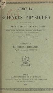 Armand de Gramont et  Académie des sciences de Paris - La télémétrie monostatique.