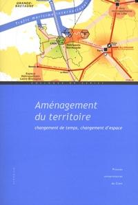Armand Frémont et Sylvain Allemand - Aménagement du territoire - Changement de temps, changement d'espace.