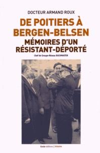 Galabria.be De Poitiers à Bergen-Belsen - Mémoires d'un résistant-déporté Image