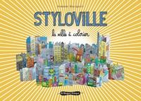 Armande Bourgault - Styloville - La ville à colorier.