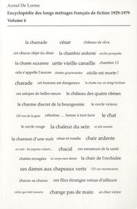 Corridashivernales.be Encyclopédie des longs métrages français de fiction 1929-1979 - Volume 6 (De Ce cher Victor à La Chauve-souris) Image
