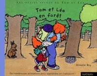 Armelle Boy - Tom et Léa en forêt.