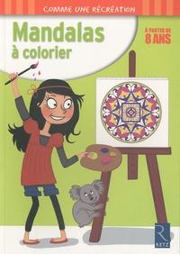 Armelle Géninet - Mandalas à colorier - A partir de 8 ans.