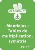 Armelle Géninet - Graphismes  : Mandalas d'apprentissage CP/CE1 - Tables de multiplication / Symétrie - Un lot de 12 fiches à télécharger.