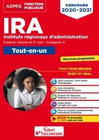 Armelle Guyomarc'h et Pascal Leprêtre - Concours IRA - Catégorie A - Tout-en-un - Fil d'actu offert - Instituts régionaux d'administration - Externe, interne et 3e concours  - Concours 2020-2021.