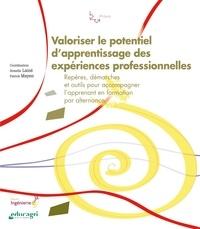 Armelle Lainé et Patrick Mayen - Valoriser le potentiel d'apprentissage des expériences professionnelles - Repères, démarches et outils pour accompagner l'apprenant en formation par alternance.
